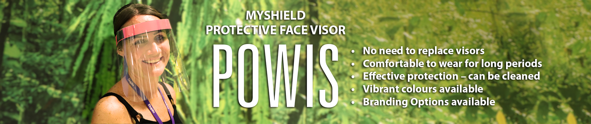 NEW MyShield protective face visors