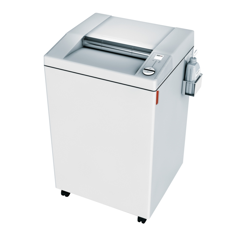 IDEAL SHREDDER 4005 CC 2 X 15 MM SECURITY LEVEL P-5 21-26 SHEETS 80 GSM PAPER 165 LITRE WASTE BIN