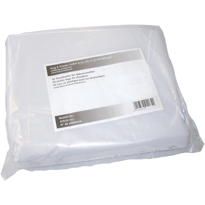 IDEAL SHREDDER BAGS X 50 3105, 3804, 4005, 4006, HIGH STRENGTH BAGS