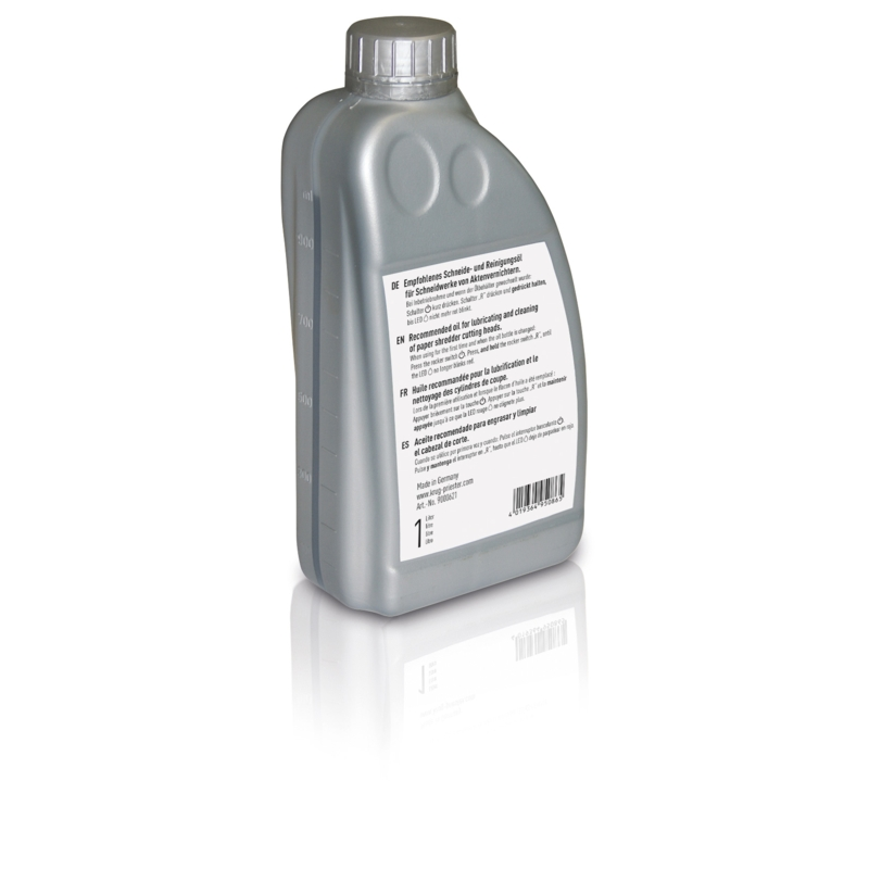 IDEAL BOTTLED LUBRICATING OIL 1 LITRE BOTTLE FOR SELF OILING SHREDDERS PRESERVES MACHINE LIFE