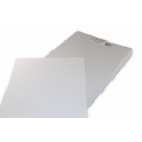 COVERS WHITE PLAIN LEATHERBOAR A4 250GSM 100 PER PACK