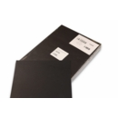 COVERS BLACK PLAIN LEATHERBOAR A4 250GSM 100 PER PACK}