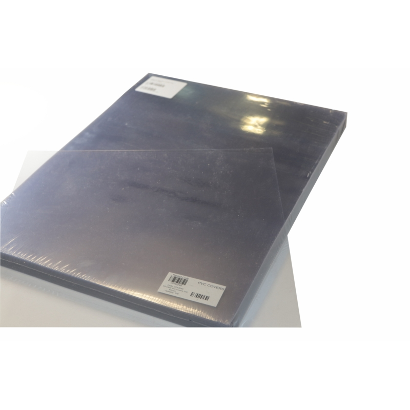 COVERS CLEAR PVC A3 240 MICRON 100 PER PACK
